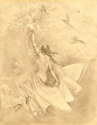 Heavenward Art Print by Julianna Ziegler