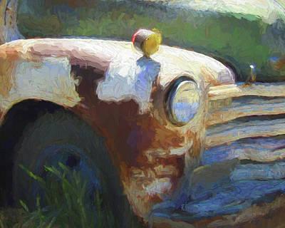 Truck Digital Art - Heavy Chevy Dop by David King