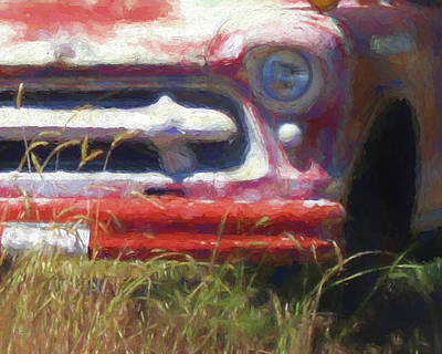 Digital Art - Heavy Chevy II by David King