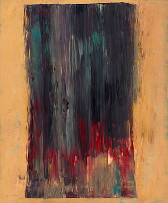 Warm Colors Painting - Heavy Day by Ross Edwards
