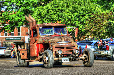 Photograph - Heavy Duty Custom Dodge by J Laughlin