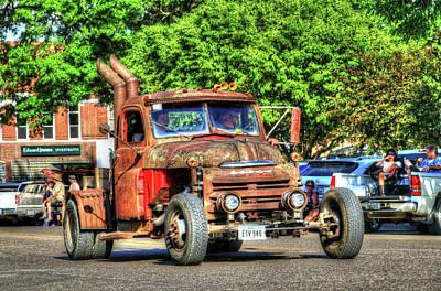 Photograph - Heavy Duty Custom Dodge by J Laughlin