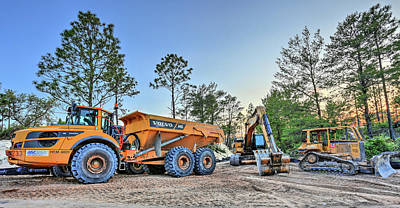 Heavy Equipment Art Print