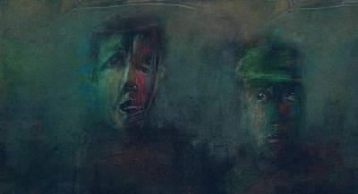 Digital Art - Heavy Fog Set In by Jim Vance