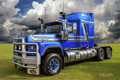 Photograph - Heavy Hauler by Keith Hawley