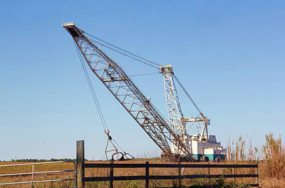 Photograph - Heavy Lifting 2 - Phosphate Mining by HH Photography of Florida