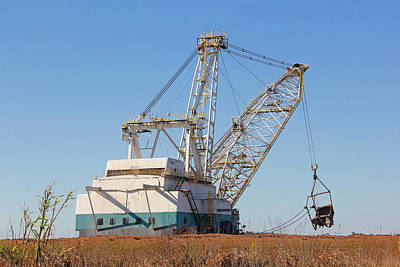 Photograph - Heavy Lifting - Phosphate Mining by HH Photography of Florida