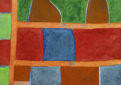 Abstract Painting - Heavy Loads by Heidi Capitaine
