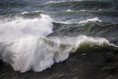 Photograph - Heavy Surf Advisory by Robert Potts