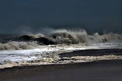Photograph - Stormy Surf by Kim Bemis
