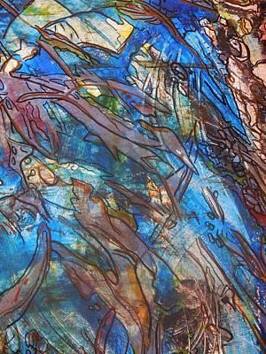 Acrylic Painting - Heavy Traffic by Karen Lillard