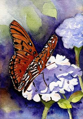 Painting - Hebrews 4 12 by Kathy Nesseth