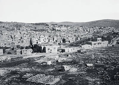 Moody Trees Rights Managed Images - Hebron 1898 Royalty-Free Image by Munir Alawi
