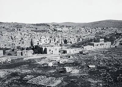 Photograph - Hebron 1898 by Munir Alawi