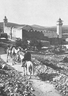 Photograph - Hebron In 1925 by Munir Alawi