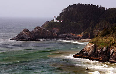 Heceta Head Lighthouse Art Print by Joanne Coyle