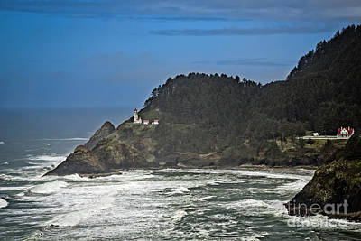 Photograph - Heceta Head Lighthouse by Jon Burch Photography