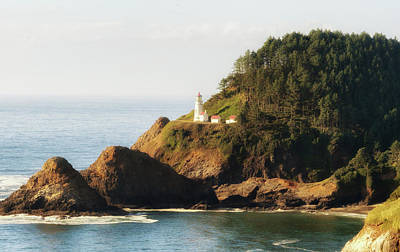 Photograph - Heceta Head Lighthouse by Michael Hope