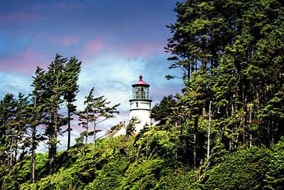 Photograph - Heceta Head Lighthouse by Mike Braun