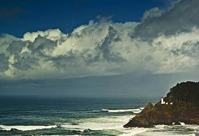 Photograph - Heceta Head Lighthouse2 by Dale Stillman