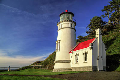 Photograph - Heceta Head Restored by James Eddy