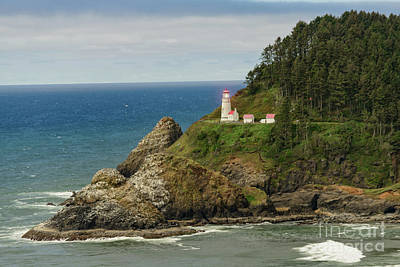 Photograph - Heceta Lighthouse by Craig Leaper