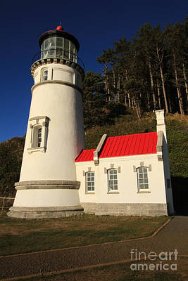 Photograph - Heceta Lighthouse, Devils Elbow, Oregon by California Views Mr Pat Hathaway Archives