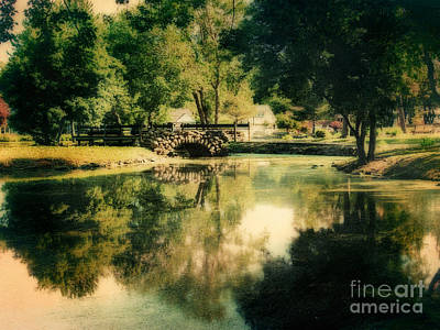 Photograph - Heckscher Park Pond, Huntington Ny by Alissa Beth Photography