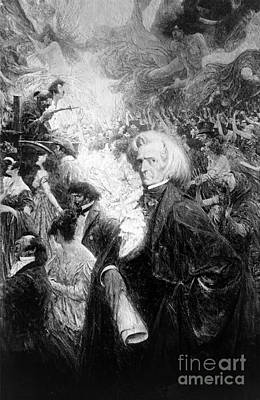 Fantastique Photograph - Hector Berlioz, French Composer by Science Source