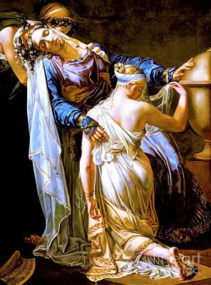 Painting - Hecuba And Polyxena by Pg Reproductions