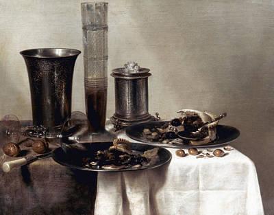 Photograph - Heda:  A Dessert, 1637 by Granger