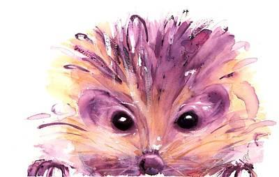 Painting - Hedgehog by Dawn Derman