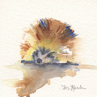 Painting - Hedgehog by Marsha Karle