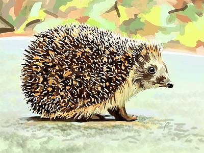 Hedgehog Day Art Print
