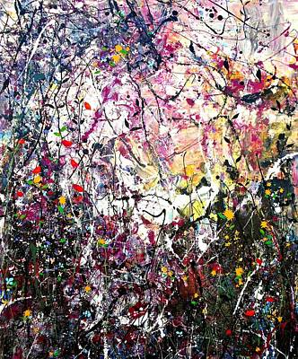 Painting - Hedgerow by Angie Wright