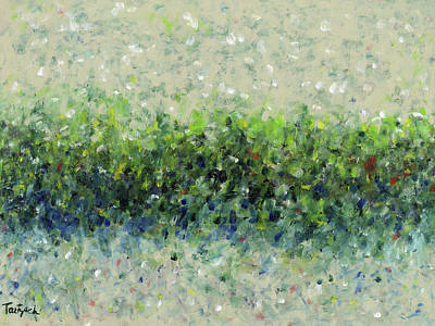Painting - Hedgerow by Lynne Taetzsch