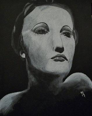 Hedy Art Print by Nick Young
