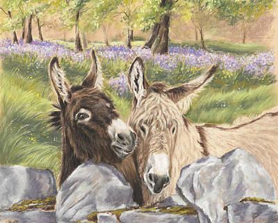 Painting - Hee Haw by Vanda Luddy