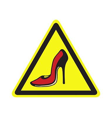 Digital Art - Heels Hazard by Stan  Magnan