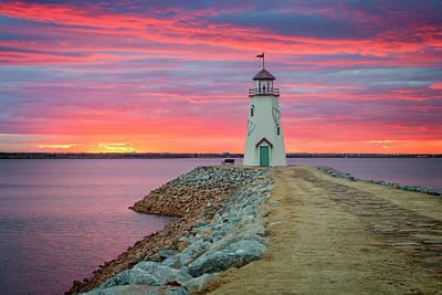Photograph - Hefner Sunset IIi by Ricky Barnard