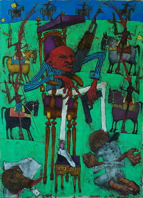 Obama Painting - Hegemonic Hygiene Hh by Sergejs Djomins