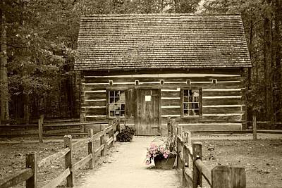 Photograph - Hesler Cabin On Old Mission Peninsula by Ellen Barron O'Reilly