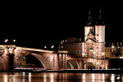 Heidelberg Bridge Art Print