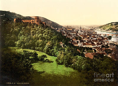 Painting - Heidelberg by Celestial Images