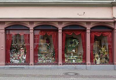 Toy Shop Photograph - Heidelberg Christmas Shop by Teresa Mucha