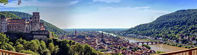 Photograph - Heidelberg City And Neckar River, Germany by Elenarts - Elena Duvernay photo