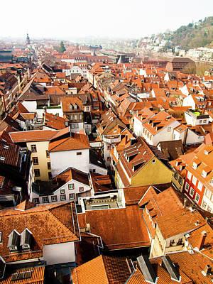 Heidelberg Cityscape Art Print