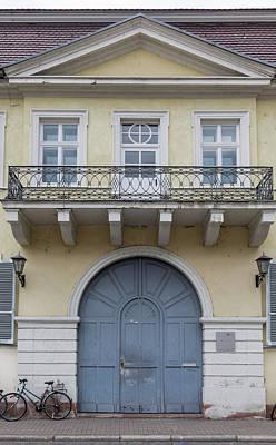 Photograph - Heidelberg Door 04 by Teresa Mucha