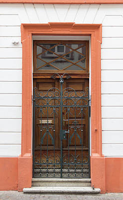 Photograph - Heidelberg Door 13 by Teresa Mucha