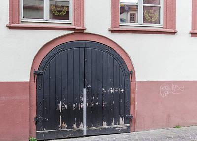 Photograph - Heidelberg Door 15 by Teresa Mucha